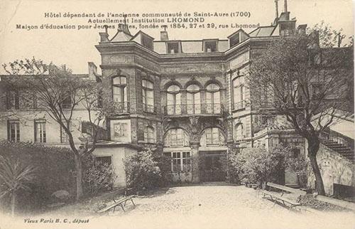 L'hôtel de Lutteaux ou hôtel de Sainte-Aure - Carte postale ancienne