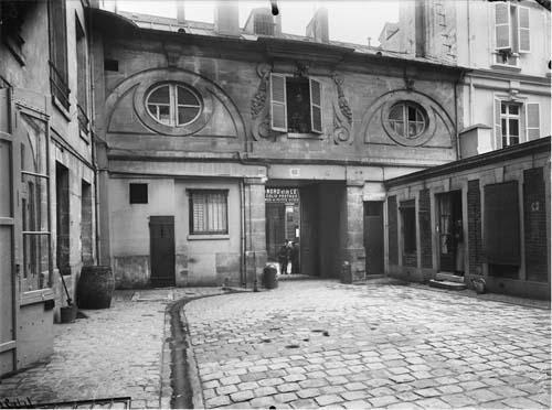 L'hôtel de Montescot - Photographie d'Eugène Atger