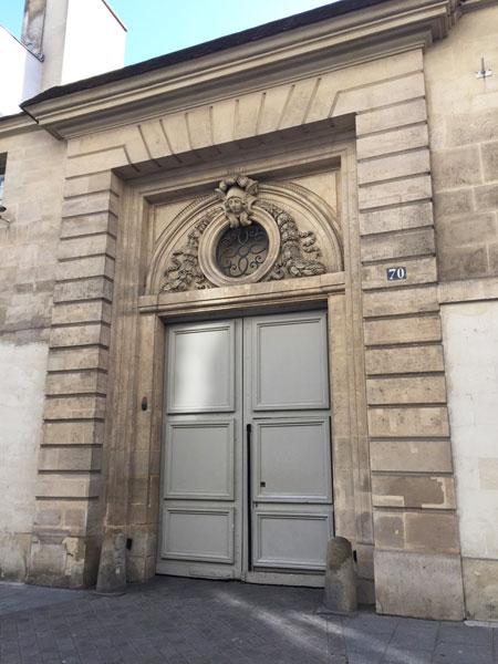 L'hôtel de Montescot - Le portail