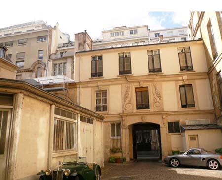 L'hôtel de Villeflix - Le revers du bâtiment sur rue
