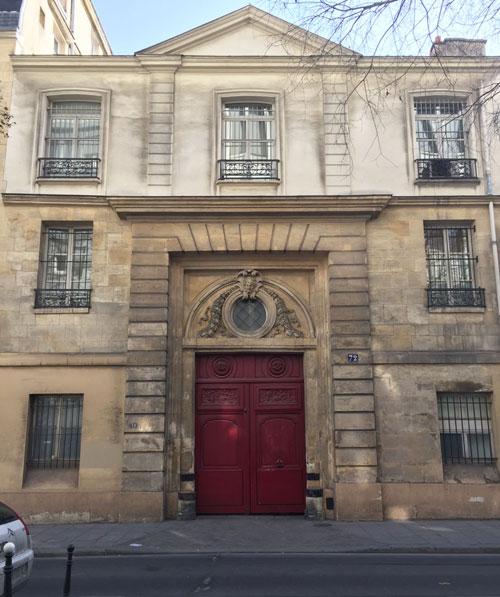 L'hôtel de Villeflix - Le portail