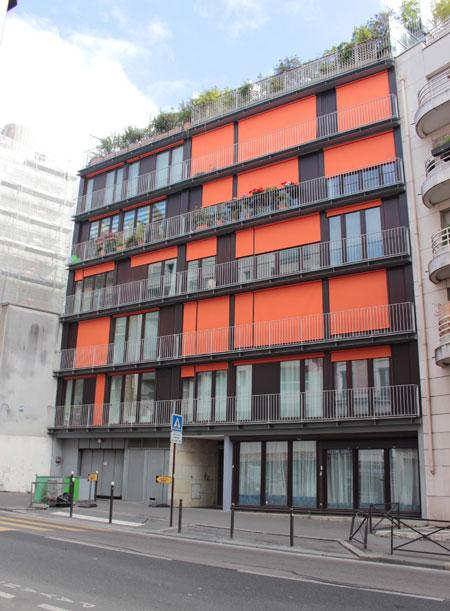 Immeuble de logements Rue de Patay
