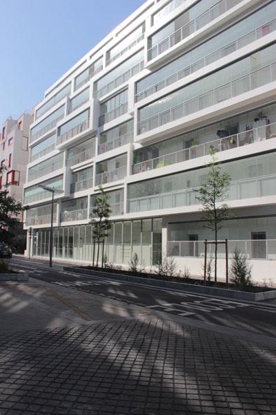 Immeuble de logements Rue Marie-Georges Picquart
