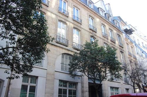 Maison Juliennet : la façade sur la rue
