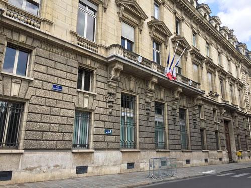 Le Ministère de l'Agriculture : la façade sur la rue de Varenne