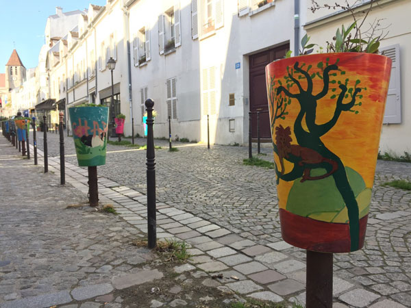 La rue Saint-Blaise
