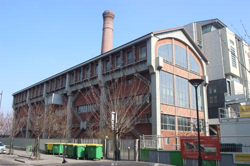 L'usine SUDAC, intégrée à l'Ecole d'architecture Paris-Val de Seine