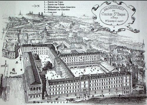 Le collège Sainte-Barbe