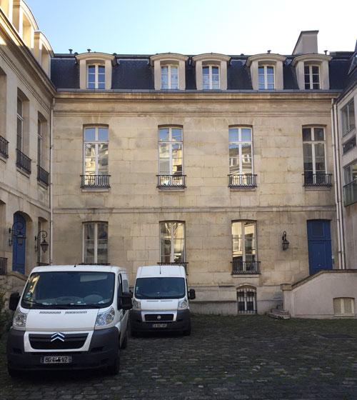Hôtel particulier locatif - Le logis en fond de cour