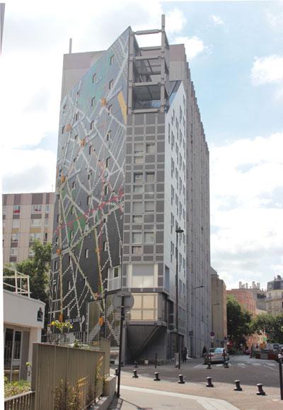 Immeuble de logements Rue Chateau des Rentiers