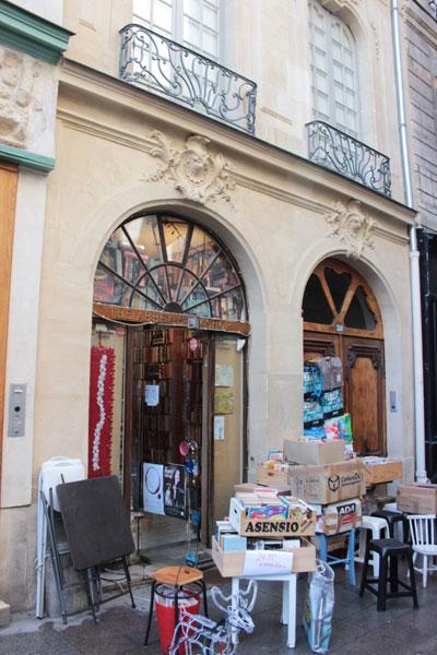 Maison Dubuisson : la librairie Abbey Bookshop est installée au rez-de-chaussée
