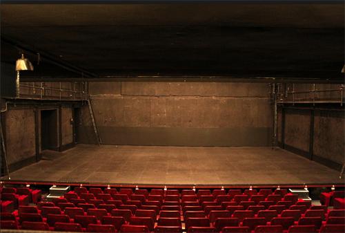 Le théâtre de la Bastille : la scène