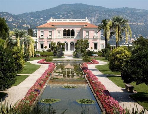 La villa Ephrussi à Cap-Ferrat