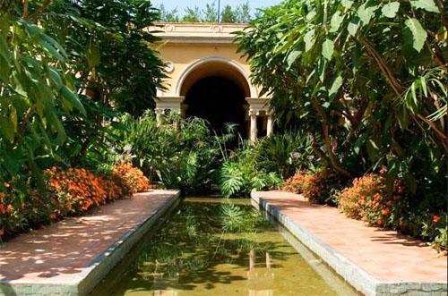 La villa Ephrussi : l'un des jardins