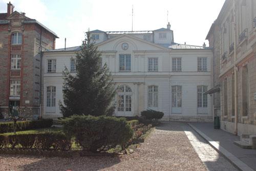 Le château Ternaux : le pavillon du XVIIIe siècle