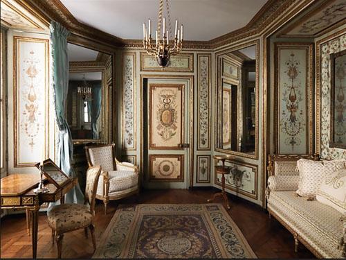 L'hôtel de Crillon : l'ancien boudoir remonté au Metropolitan Museum de New-York