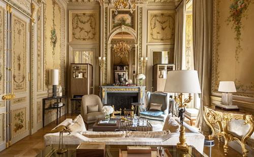 L'hôtel de Crillon : la suite duc de Crillon