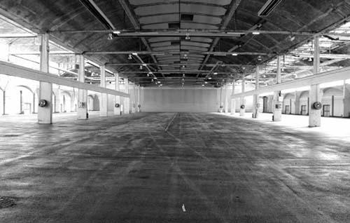 La halle Freyssinet - Etat avant la rénovation du site