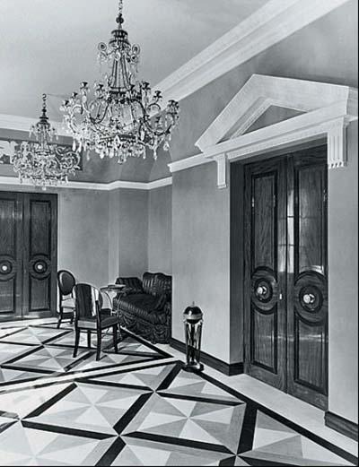 Hôtel de Chaneleilles - Le vestibule