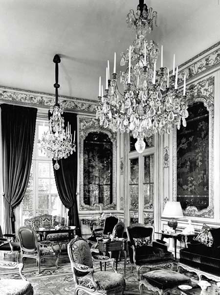 Hôtel de Chaneleilles - Un salon Régence