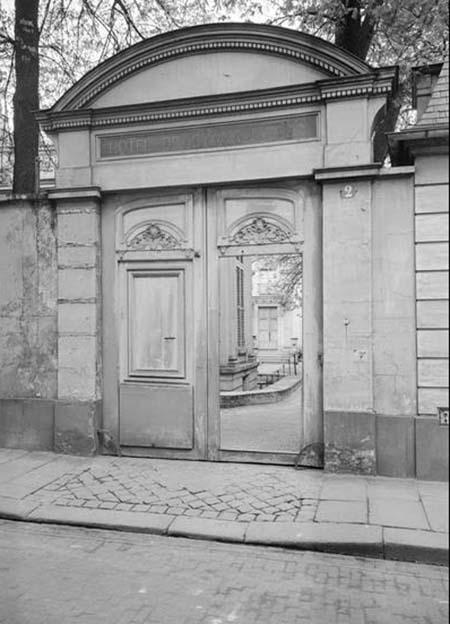 Hôtel de Chaneleilles - Le portail