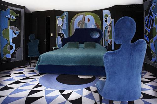 L'hôtel Montana : la suite Bleu Acide