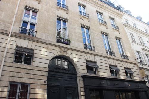 immeuble locatif au n°9 rue Bonaparte