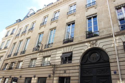 immeuble locatif au n°7 rue Bonaparte