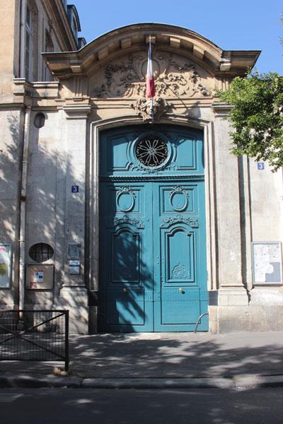 L'hôtel Peyrenc de Moras puis hôtel Bergeret de Frouville : le portail (n°3 rue Béranger)