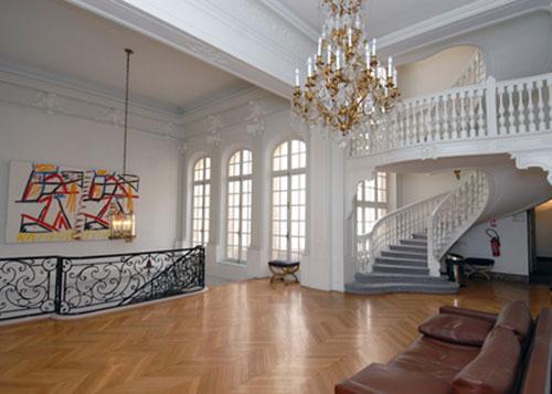 L'hôtel de Voguë - L'escalier supérieur