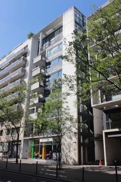 Logements Rue de l'amiral Mouchez - Façade sur rue