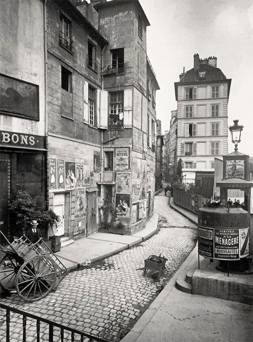 La maison d'origine, rue des Ursins, avant sa transformation