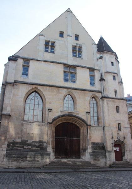 Le couvent des Cordeliers - La façade du réfectoire