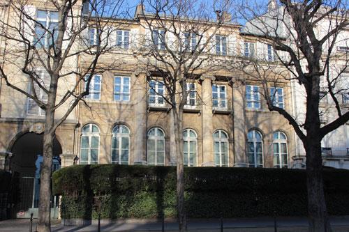 L'hôtel d'Argenson - Etat actuel de la façade sur rue