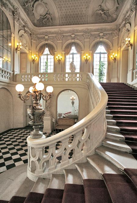 Le Petit Luxembourg : le majestueux escalier de germain Boffrand