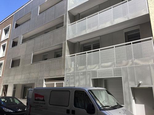 Immeubles rue de Coulmiers