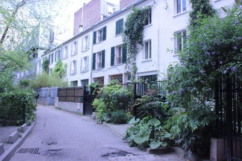 La cité Saint-Chaumont