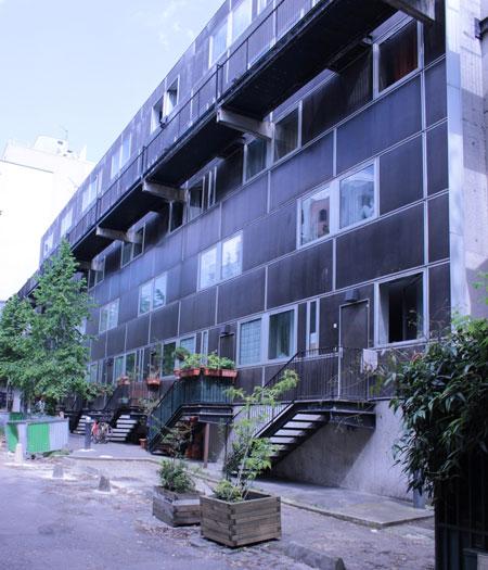 La cité Saint-Chaumont : immeuble de logements