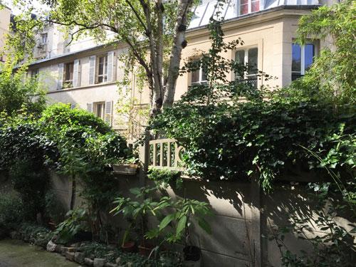 Cour ancienne Rue de Belleville