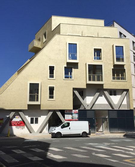 Le 3e immeuble situé rue du père Corentin
