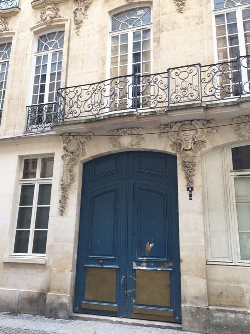 La maison Quirot : le portail d'entrée