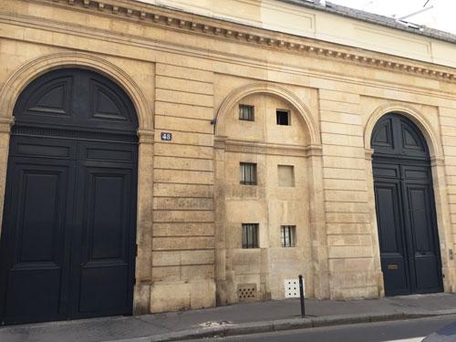 Les maisons Pasquier : les deux portails sur rue