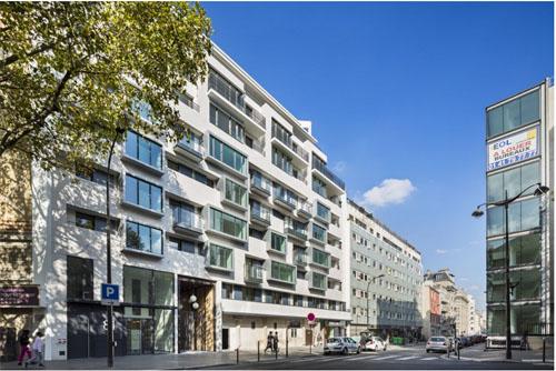 Résidence étudiants et logements Rue de Meaux : les 50 logements sur rue