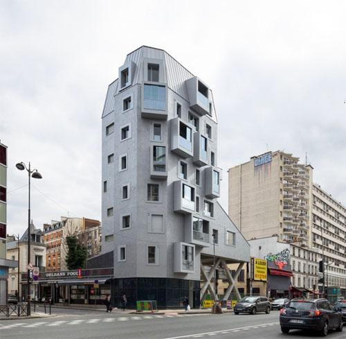 L'immeuble totem avenue du général Leclerc