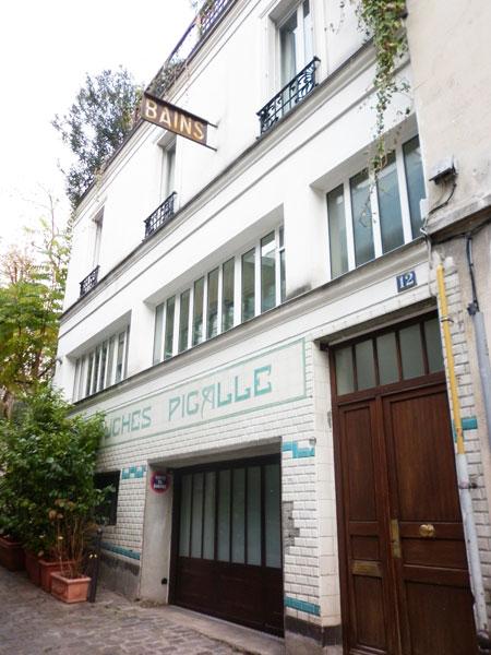 La cité du Midi : l'ancien Bains-Douche Pigalle au n°12