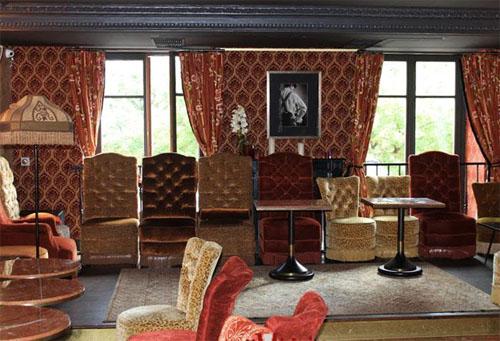Le Delaville Café : le salon du 1er étage
