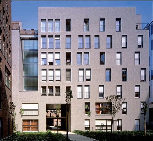 Logements sociaux Rue du Chevaleret et Rue Jeanne Chauvin