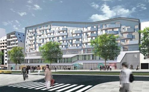 Le projet Jourdan, boulevard Jourdan