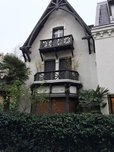 L'avenue des Chalets