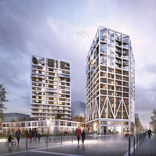 Chapelle International : le lot E des architectes Brenac & Gonzalez